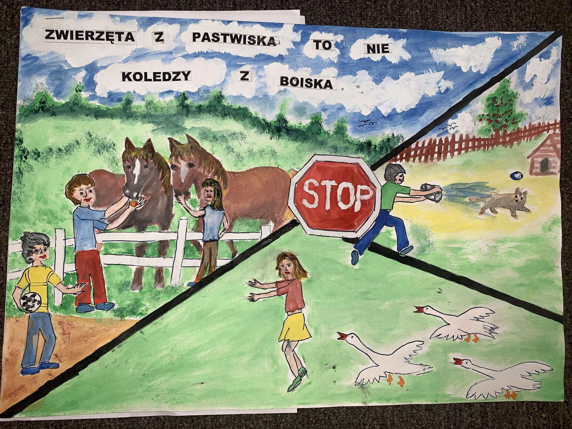 I-miejsce-w-etapie-wojewódzkim-X-Konkursu-Plastycznego-KRUS-Piotr-Staniszewski-Szkoła-Podstawowa-w-Ławsku