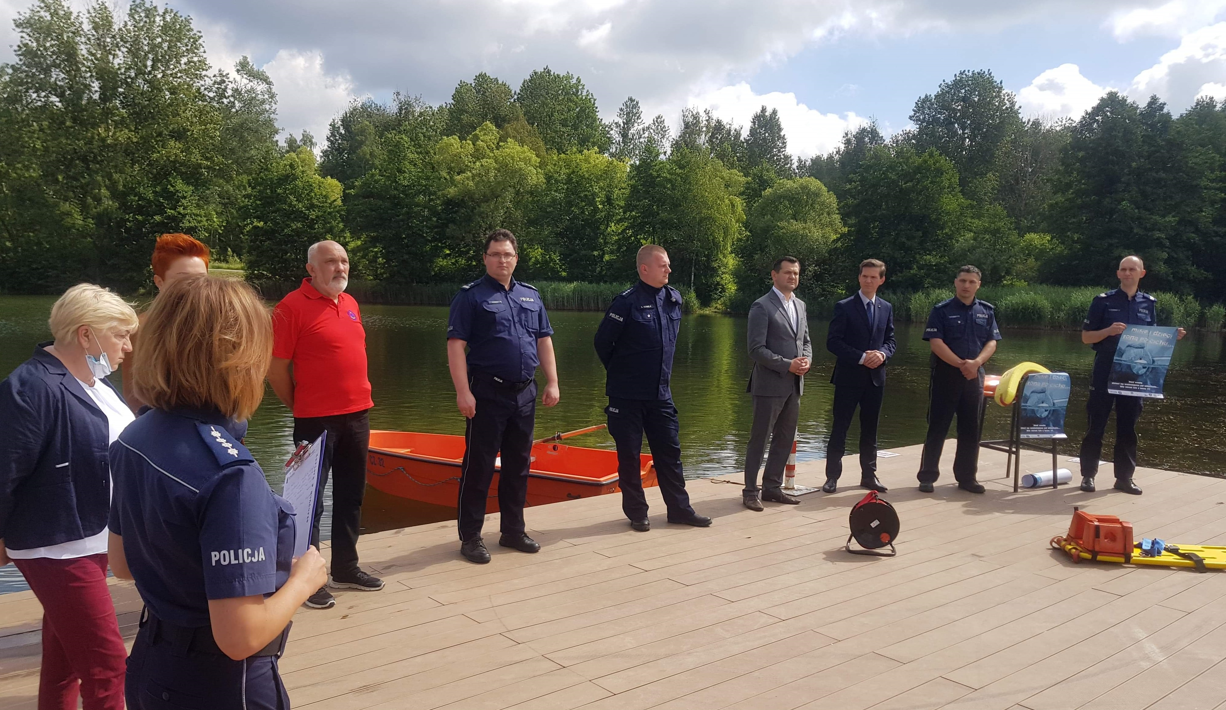 Częstochowa. Spotkanie inaugurujące kampanię Policji i KRUS