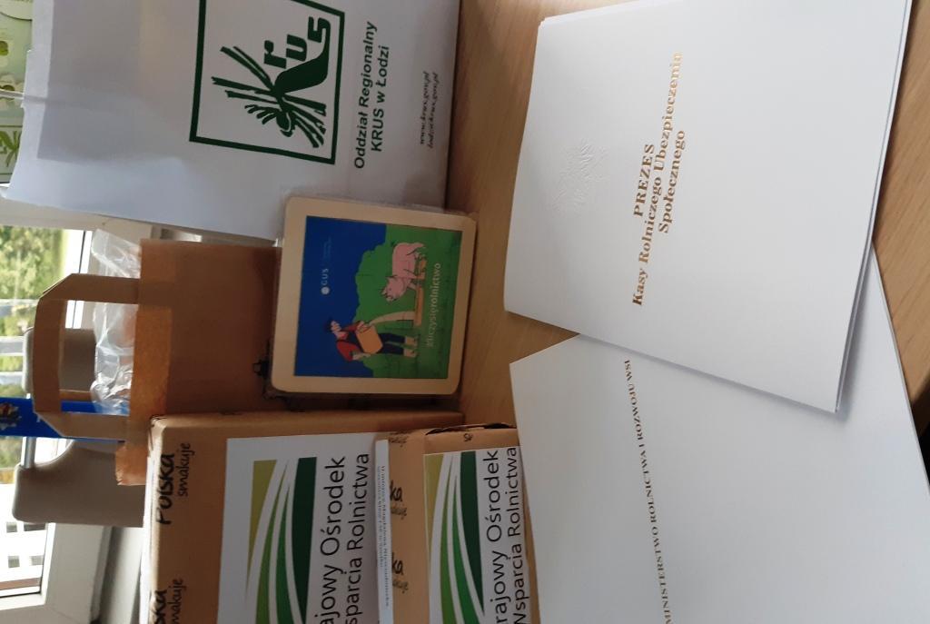Wręczenie nagród Konkurs plastyczny w Łodzi