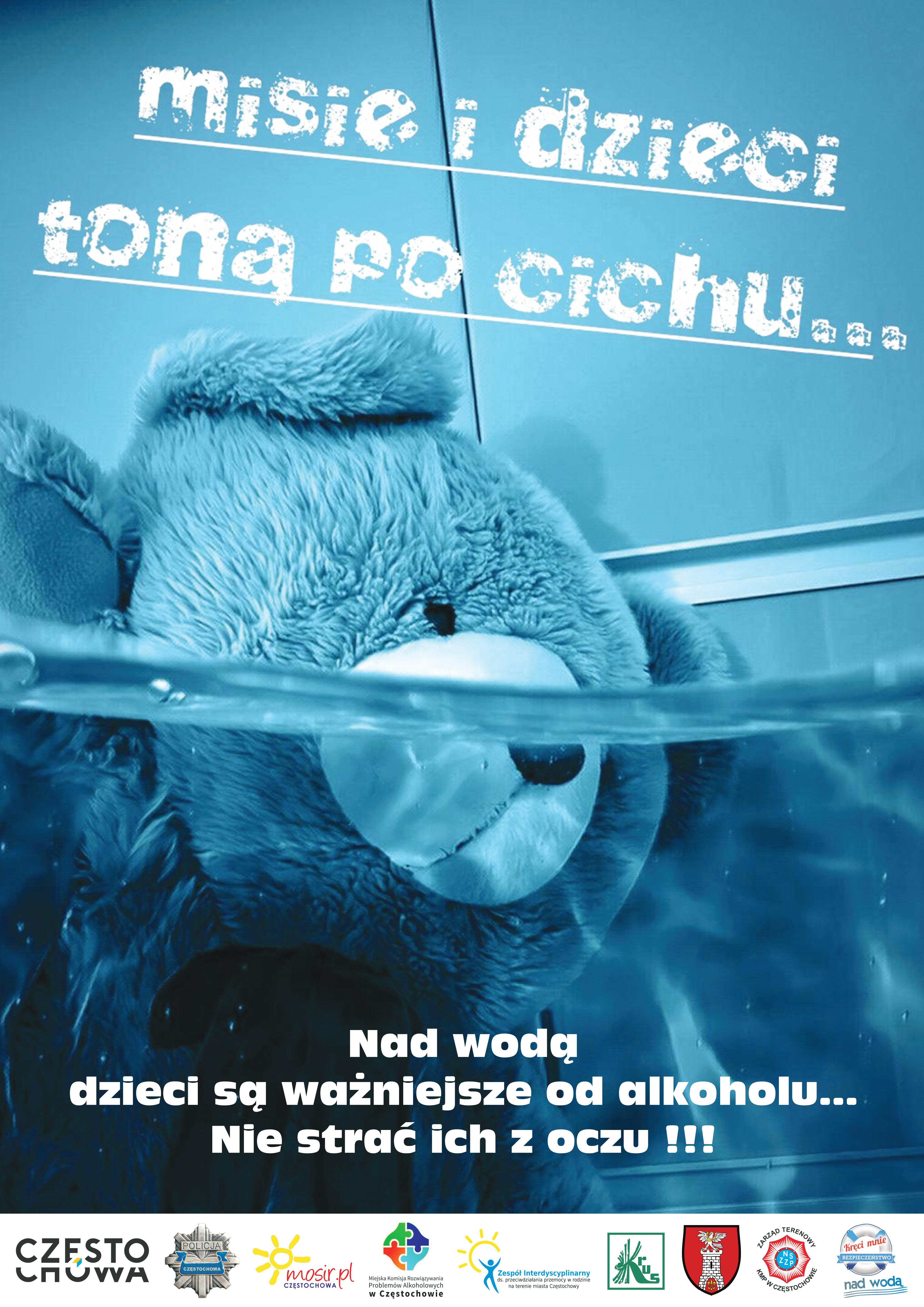 plakat PlakatMisie i dzieci toną po cichu